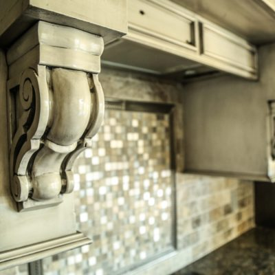 Custom White Oven Vent Example