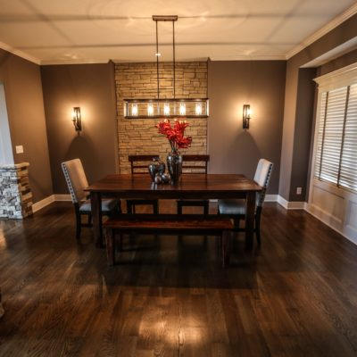 Custom Open Dining Room Example