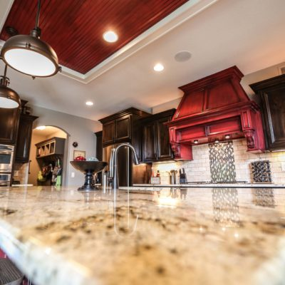 Custom Kitchen Island Eye Level