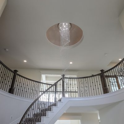 custom home entry dome